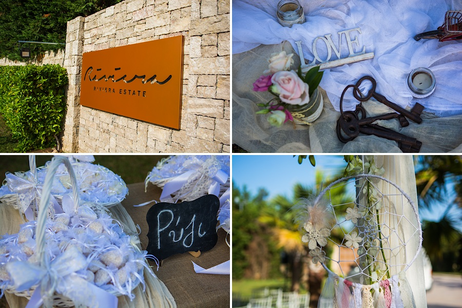 028 Destination wedding in greece athens at riviera estate bride groom first kiss ceremony photography - An elegant wedding in Athens
