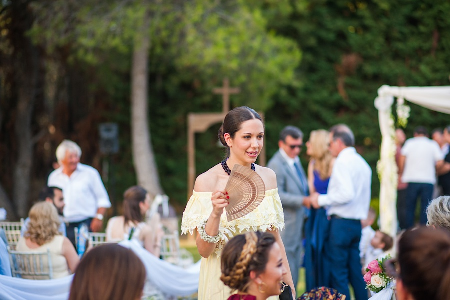 031 Destination wedding in greece athens at riviera estate bride groom first kiss ceremony photography - An elegant wedding in Athens