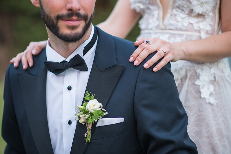 048 Destination wedding in greece athens at riviera estate bride groom first kiss ceremony photography - An elegant wedding in Athens